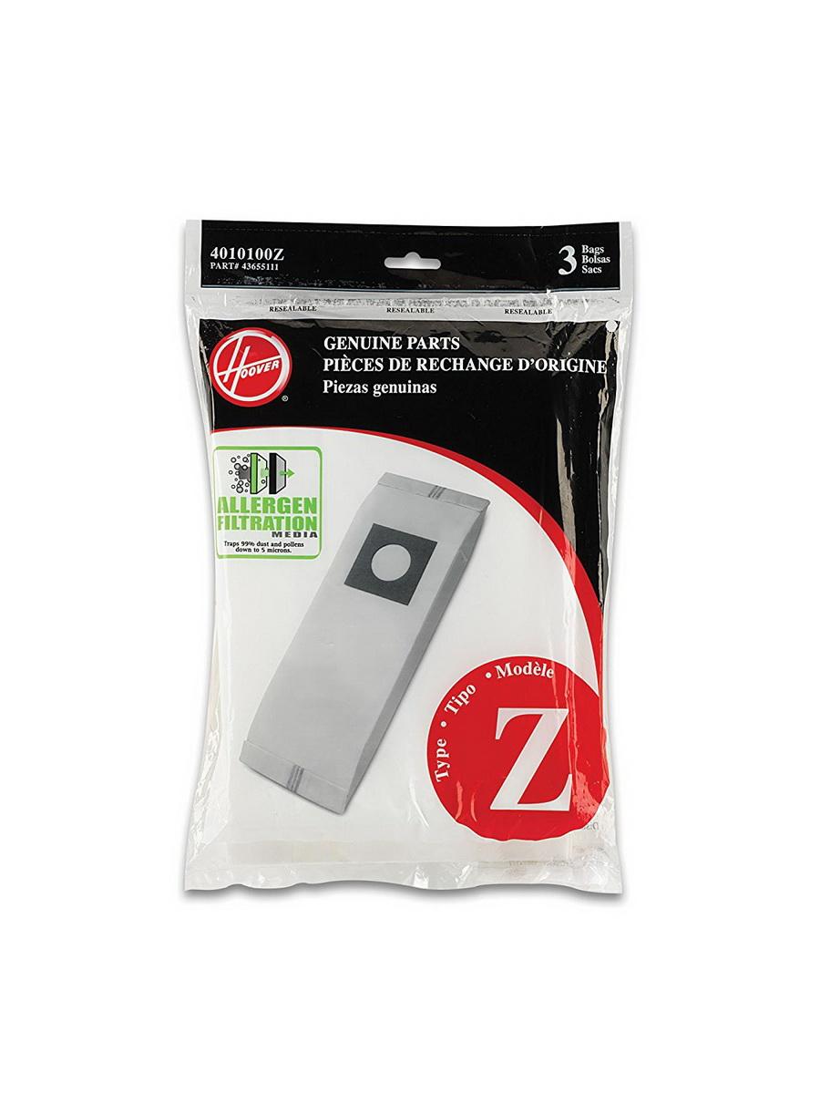 Hoover Upright Vacuum Allergen Filtration Bags, Type Z