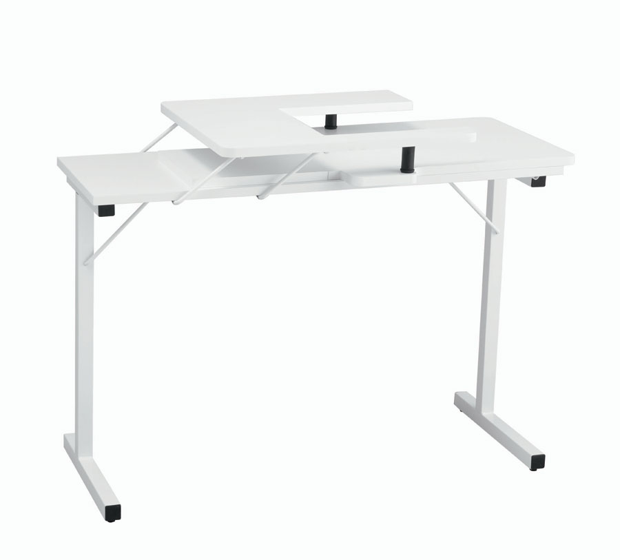 Inspira Folding Sewing Table White Stunning Gidget Sewing Machine Table