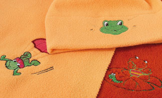 Inspira Frog Fun Embroidery Collection Software (CD)