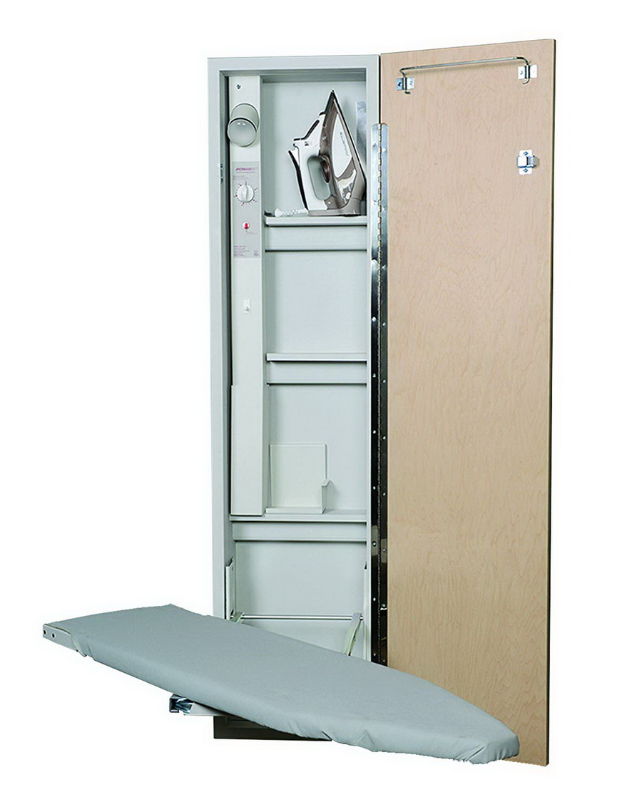 Iron-A-Way AE-46: 46 Inch Ironing Board Center With Electrical System