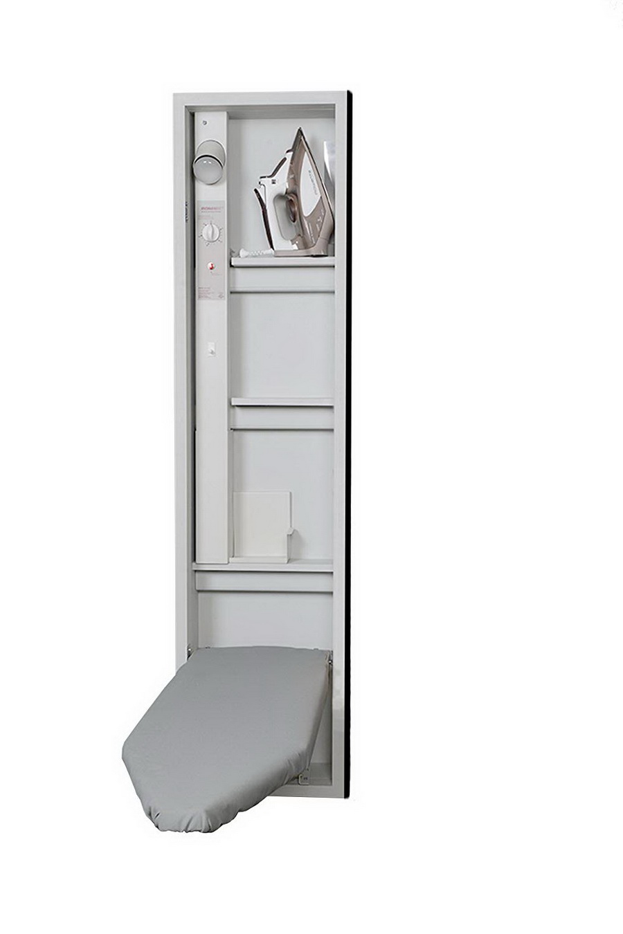 Iron-A-Way E-46: 46 Inch Ironing Board Center With Electrical System