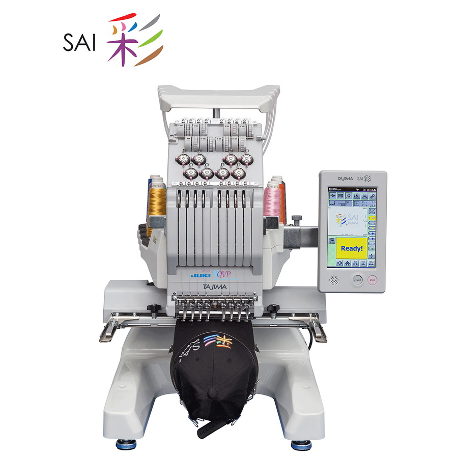 Juki Tajima Sai 8 Needle Embroidery Machine
