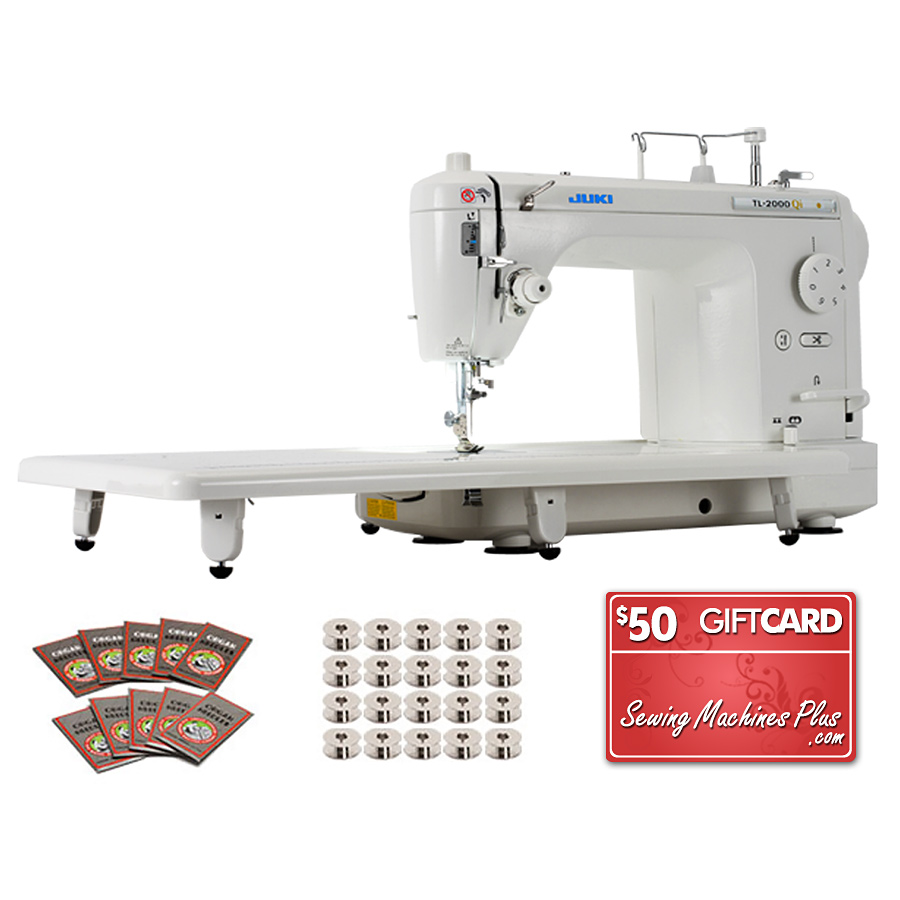 Juki TL-2000Qi Long-Arm Quilting Machine BONUS PACKAGE
