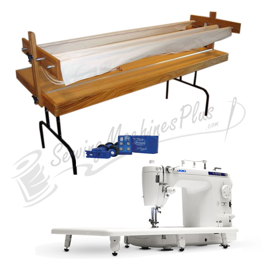 Juki TL2010Q Quilting Machine w/ Bradley Ultra Quilter Frame, Light ...