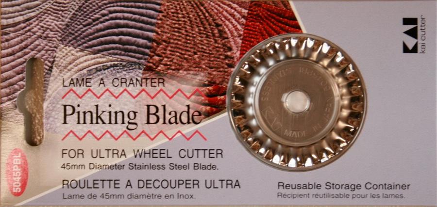 KAI Rotary 45mm Rotary Pinking Blade