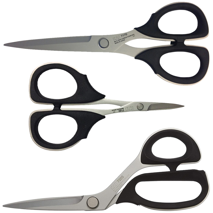 Kai GS8 7001 Series 3 Piece Scissors Gift Set (7230, 7170, 7100)