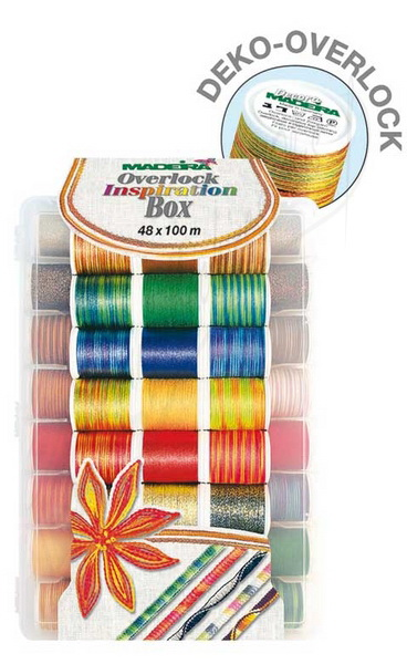 Madeira Overlock Inspiration Incredible Threadable Thread Box