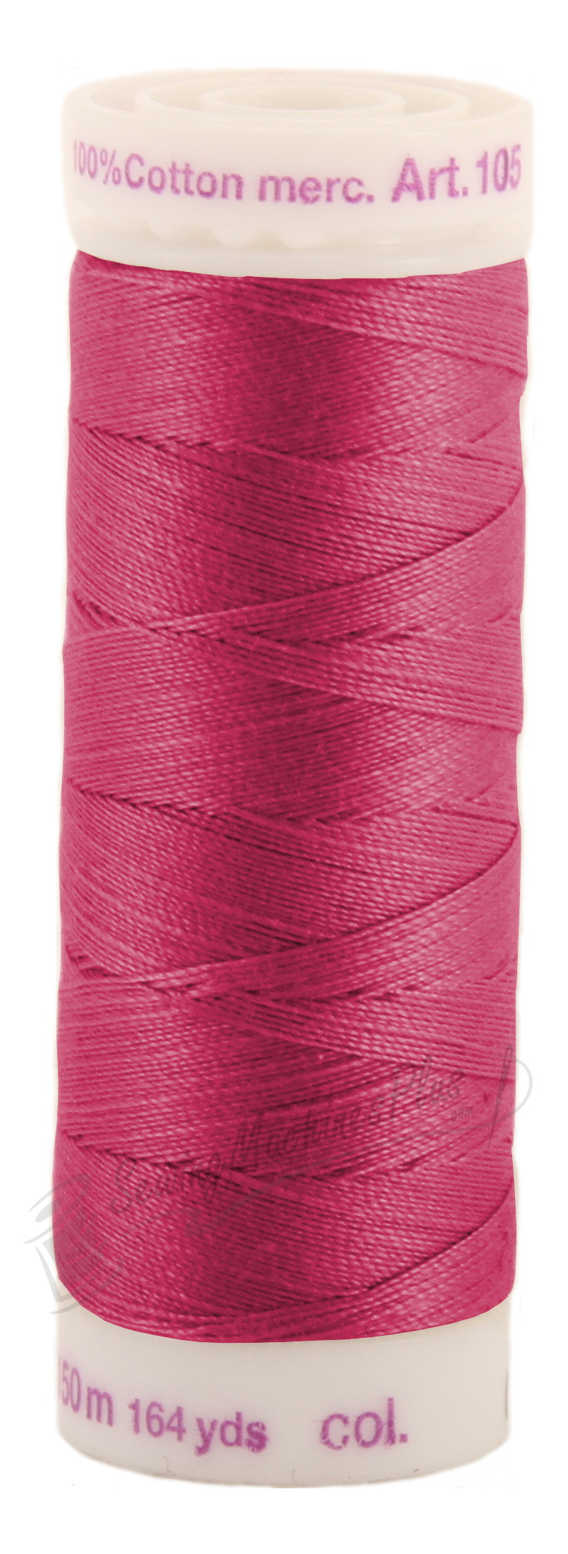 Mettler Silk-Finish 164 Yards, 50 wt. - Color 601 - 100% Cotton (105-601)