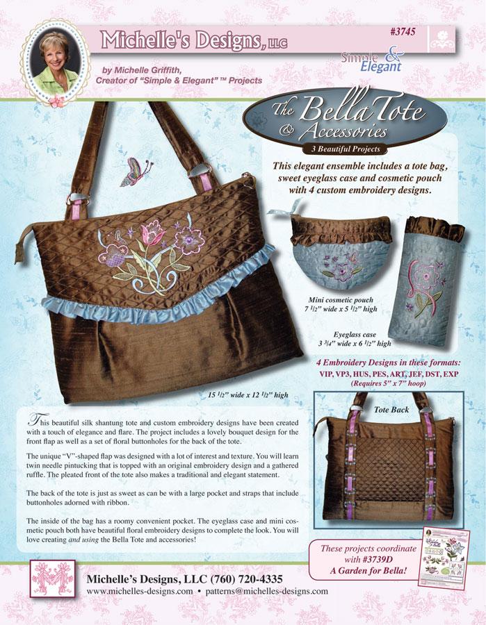 Michelles Designs - The Bella Tote and Accessories (#3745)