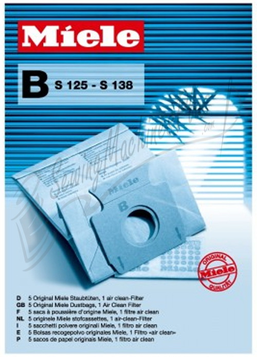 Miele Type B Paper Dust Bags
