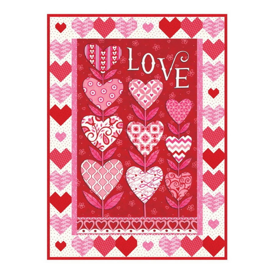 Love Grows Quilt Fabric Kit