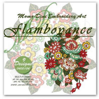 Momo-Dini Embroidery Designs - Flamboyance (0400104)