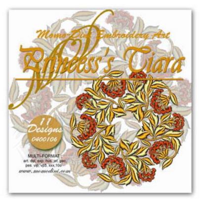 Momo-Dini Embroidery Designs - Princess Tiara (0400106)