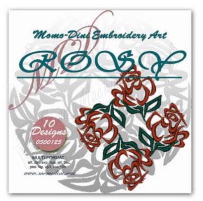 Momo-Dini Embroidery Designs - Rosy (0500125)