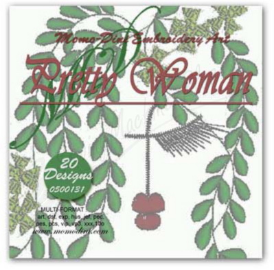 Momo-Dini Embroidery Designs - Pretty Woman (0500131)