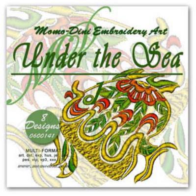Momo-Dini Embroidery Designs - Under the Sea 1 (0600141)