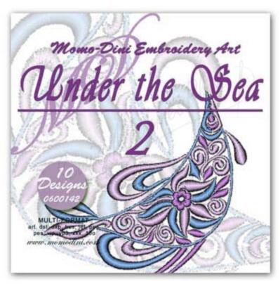 Momo-Dini Embroidery Designs - Under the Sea 2 (0600142)