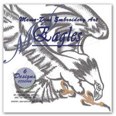 Momo-Dini Embroidery Designs - Eagles (0700144)