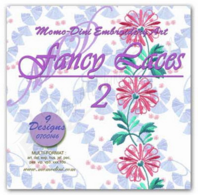 Momo-Dini Embroidery Designs - Fancy Laces 2 (0700146)