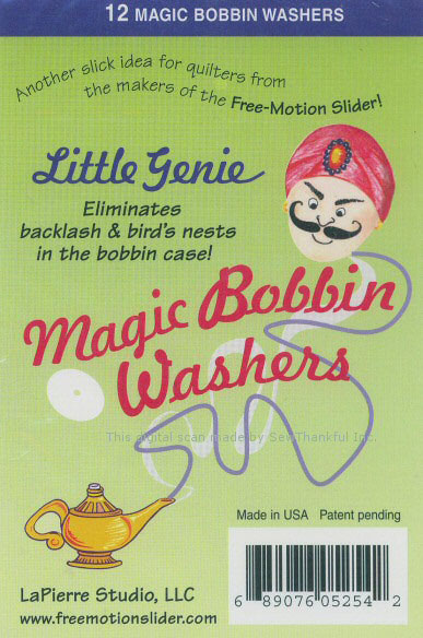 12 Little Genie Magic Bobbin Washers (6942A)