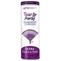 "OESD Tear Away Ultra Clean & Tear Embroidery Stabilizer  10"" x 10 yds"