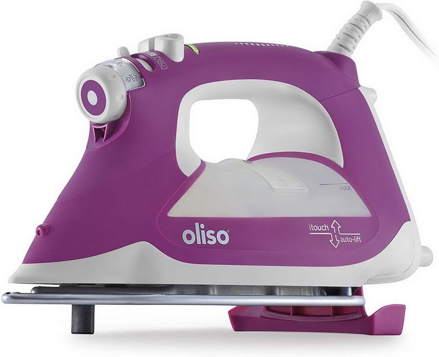 Oliso Ultra-Precision Steam Iron - TG1100-P Purple