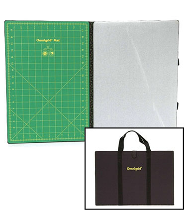 Omnigrid Foldaway 19 inches x 13 inches Cutting Mat & Ironing Mat OG2103