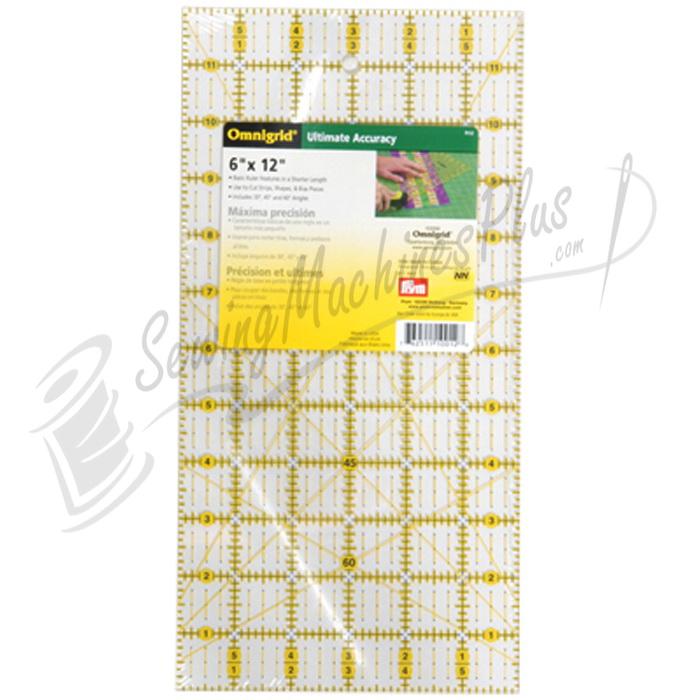 Omnigrid 6 inch x 12 inch Grid