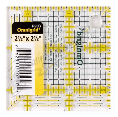 Omnigrid 2 1/2 inch x 2 1/2 inch Grid