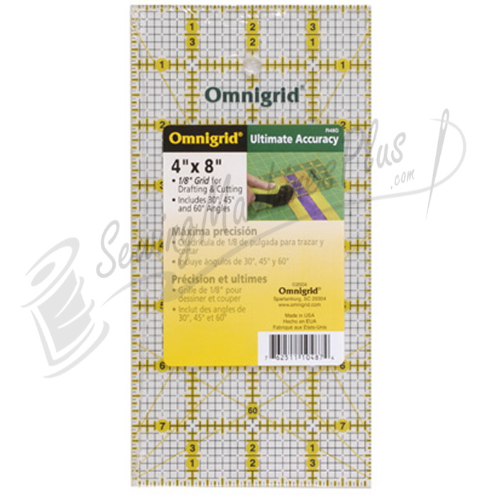 Omnigrid 4 inch x 8 inch Grid