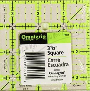 Omnigrid 3 1/2 Inch Square Omnigrip Square (OGRN35)