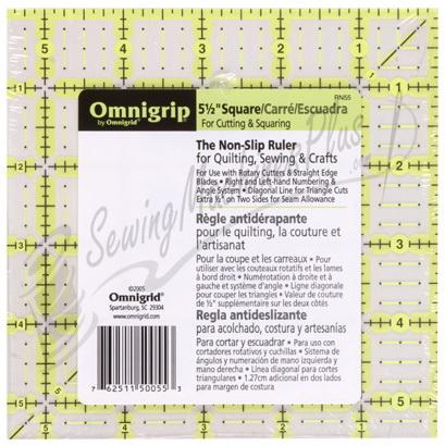 Omnigrid 5 1/2 Inch X 5 1/2 Inch Omnigrip Square