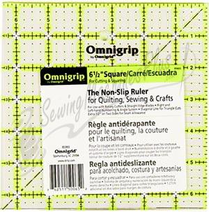 Omnigrid 6 1/2 inch Square Ruler