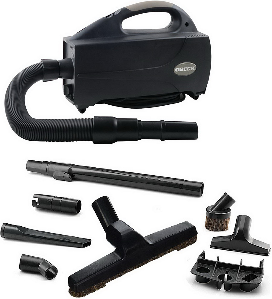 Oreck BB1200DB Compact Canister Vacuum