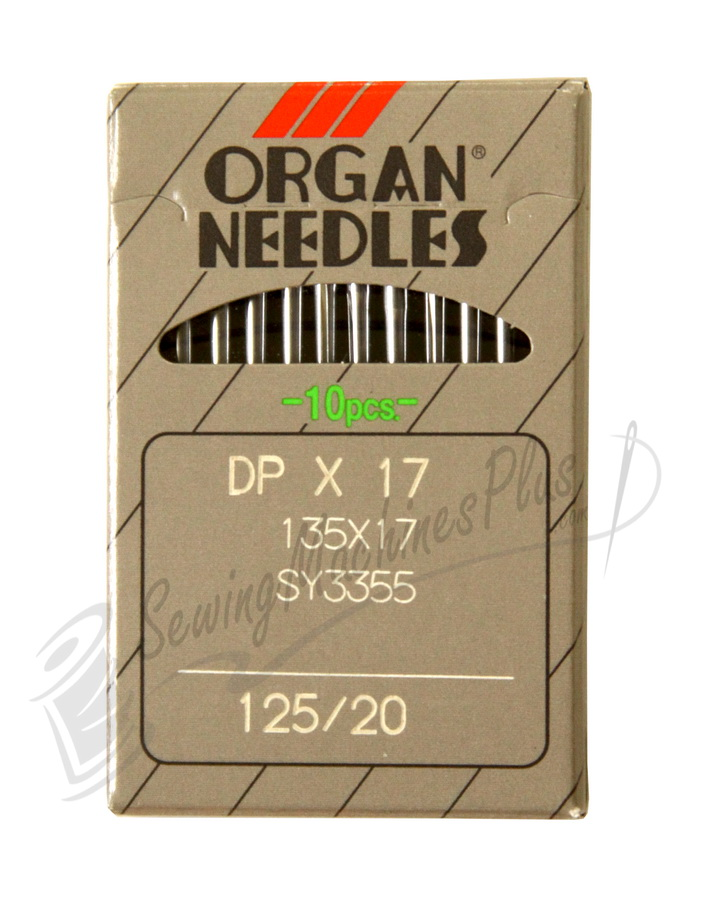 Organ Industrial Needles DBx17, 135X17 #20 10pk.