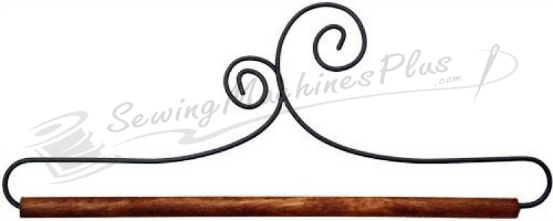"""6"""" Double Scroll Hanger with Dowel 88967"""