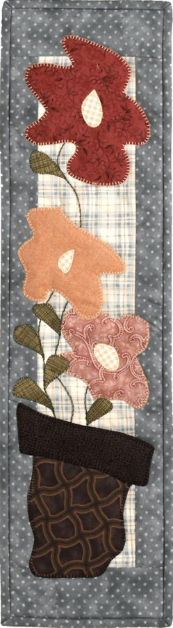 Patch Abilities - May Flowers Pattern 6 inches x 22 inches