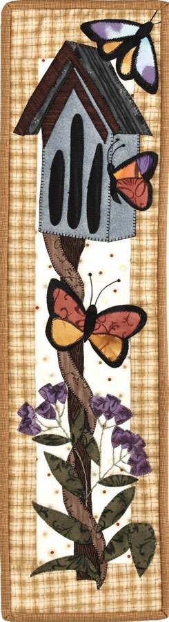 Patch Abilities - Butterfly Haven Pattern 6 inches x 22 inches