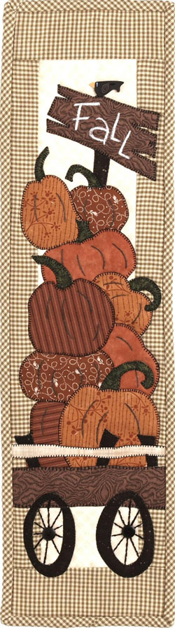 Patch Abilities - Bunch O Pumpkins Pattern 6 inches x 22 inches