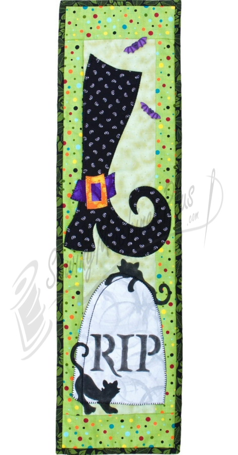 Patch Abilities RIP Witchie Poo! Pattern with Stencil P127