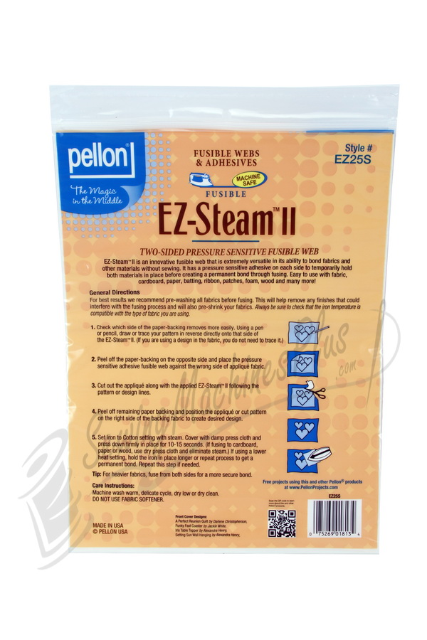 Pellon EZ-Steam II Two-Sided Pressure Sensitive Fusible Web