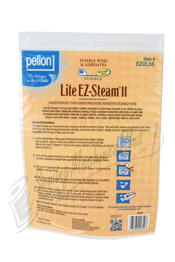 Pellon Lite EZ-Steam II Lightweight Two-Sided Pressure Sensitive Fusible Web