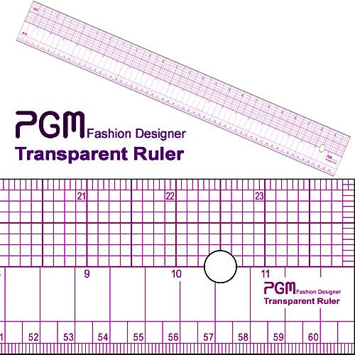 PGM 24 inch Pattern Grading Ruler - 808A