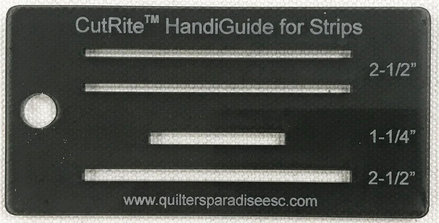 Quilters Paradise CutRite HandiGuide for Strips (Set of 2)