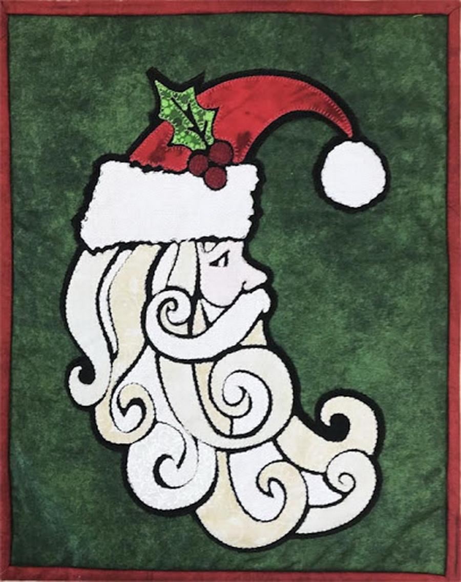 Quilter's Paradise Ho Ho Santa Fabric Kit