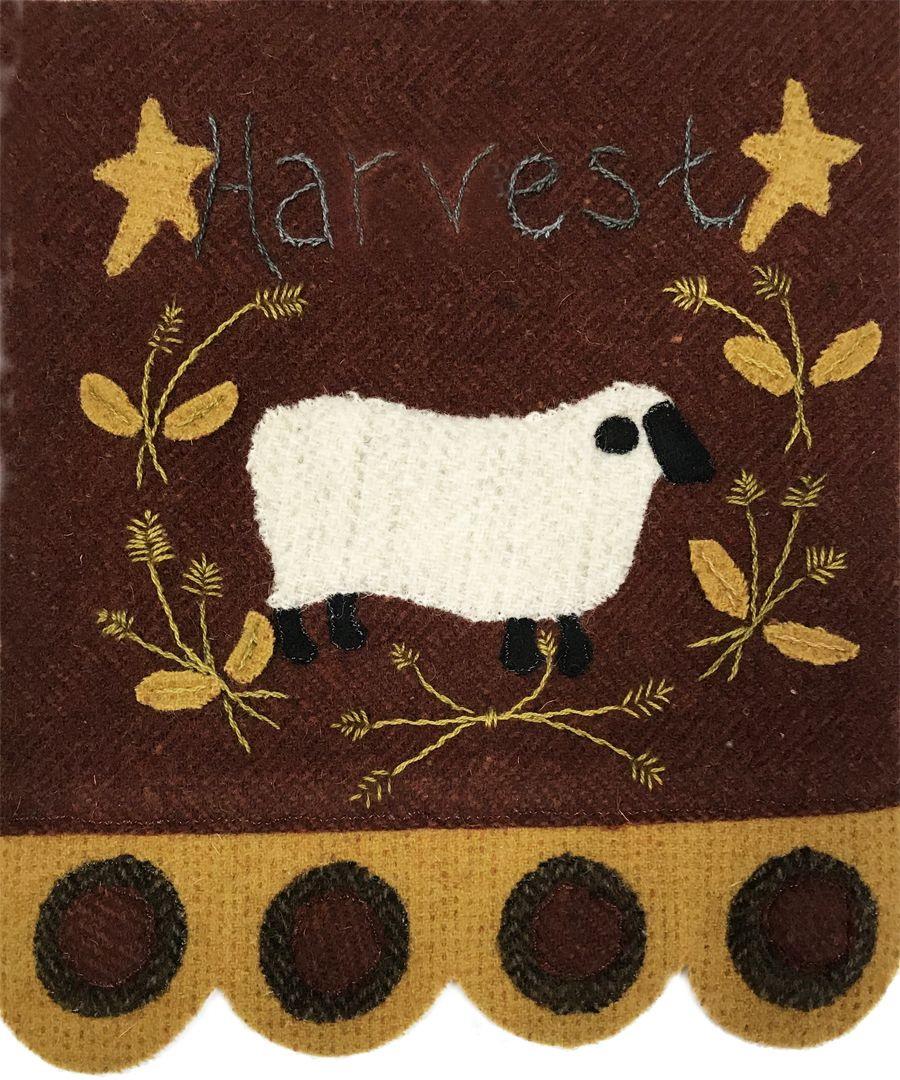 Quilter's Paradise Simply Sheep November Pre-Cut Wool Kit