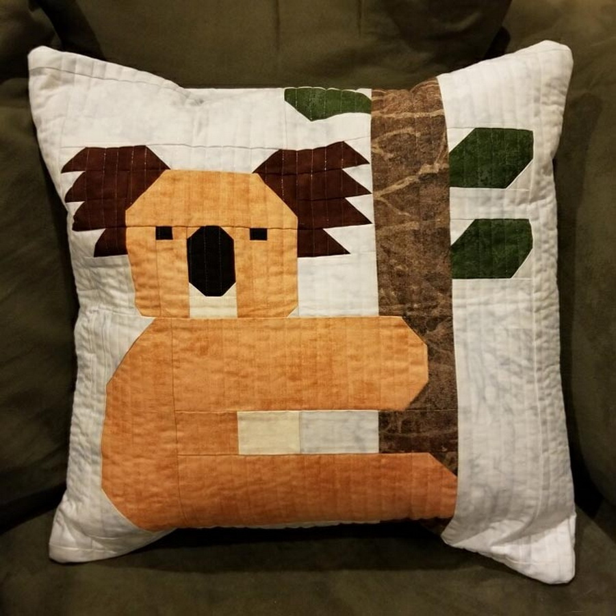 Quilter's Paradise Koalas Pillow Cover Kit