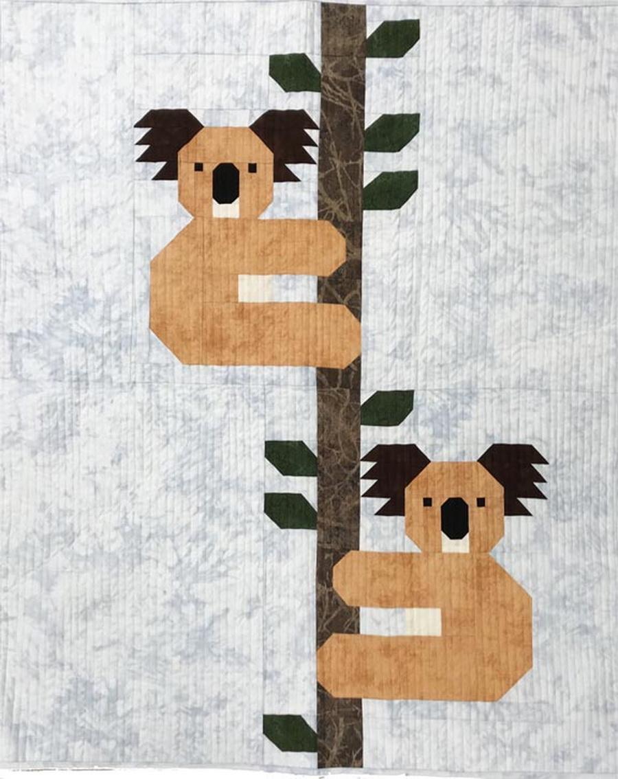 Quilter's Paradise Koalas Small Quilt Kit