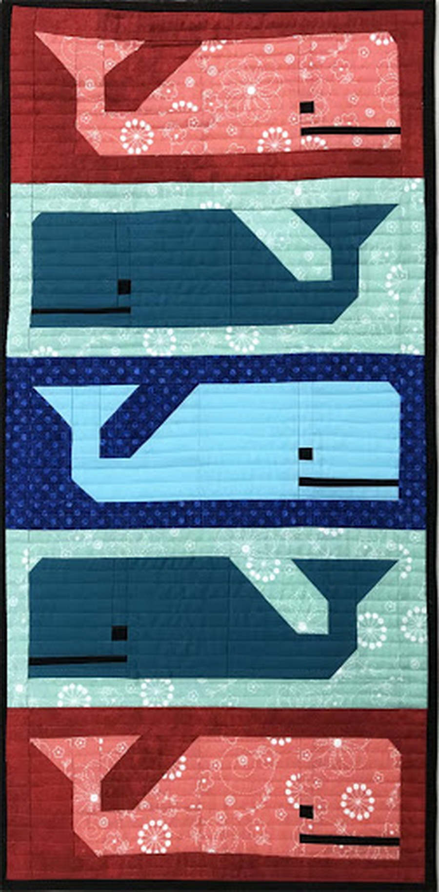 Quilter's Paradise Preppy Pod Wall Hanging Quilt Kit