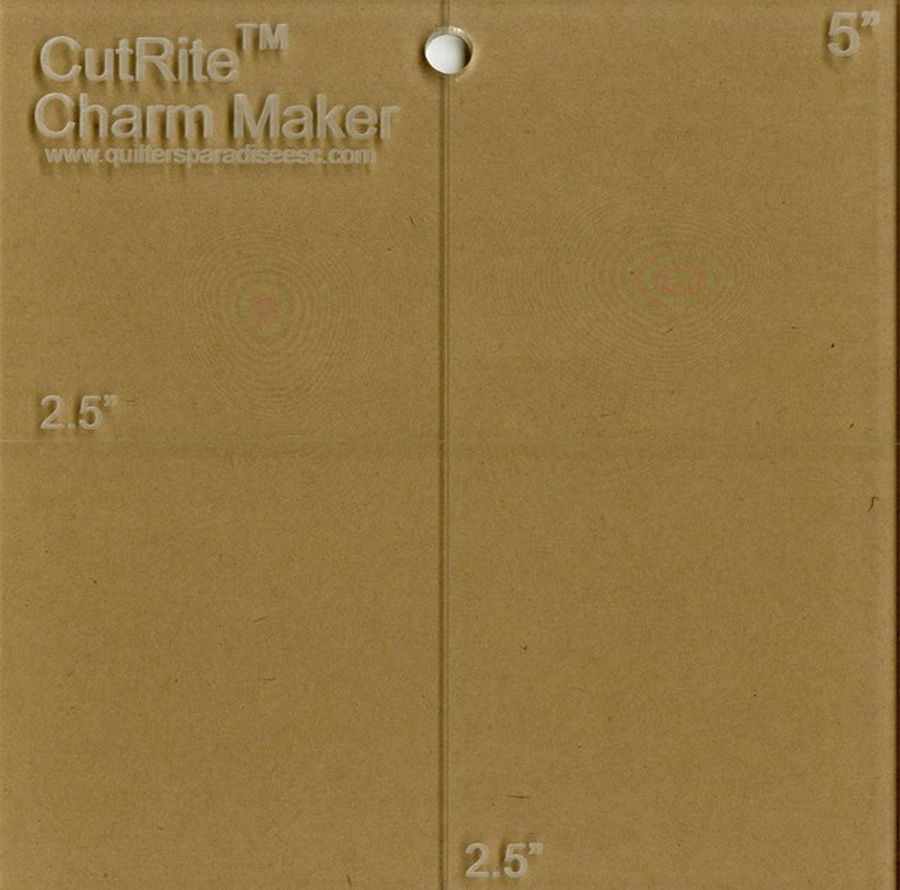 Quilters Paradise CutRite Charm Maker